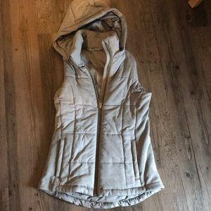 Athleta Vest w/detachable hood